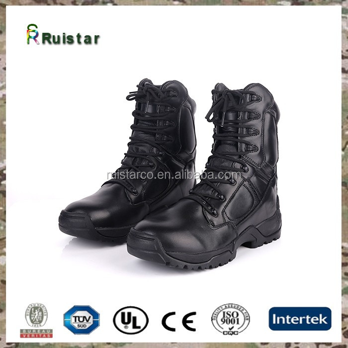 Slip On Combat Boots - Yu Boots