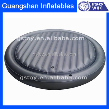 Round shape inflatable folding bed with frame buy for Round bed designs with price