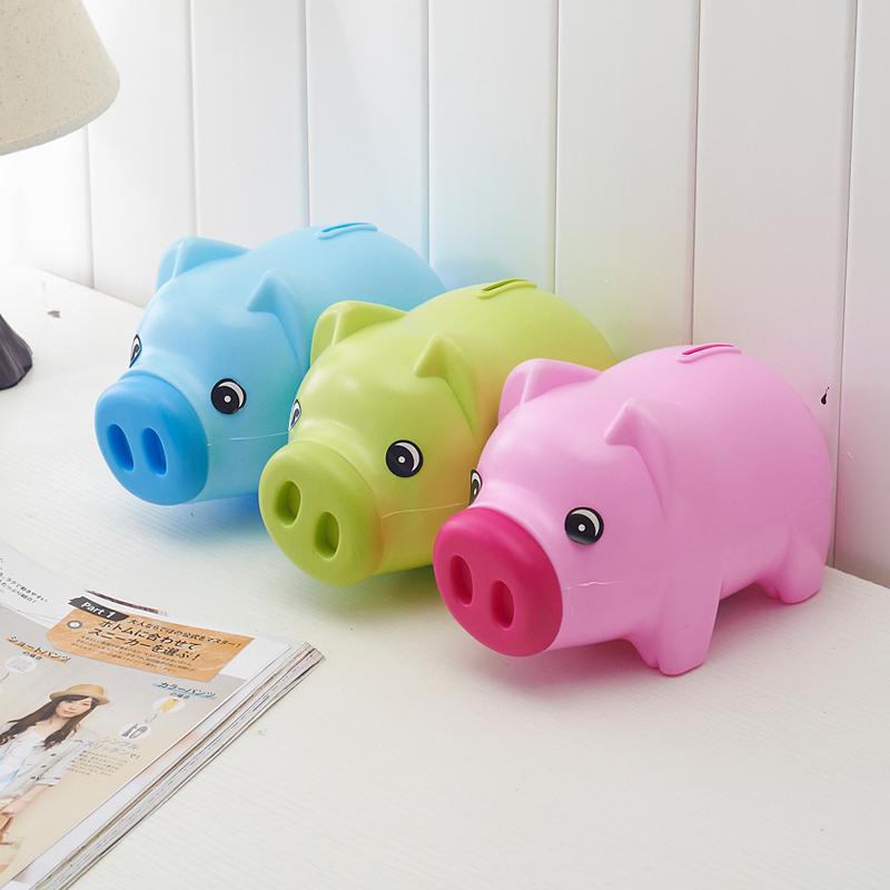 Piggy banks creative cute cartoon animal plastic piggy ...
