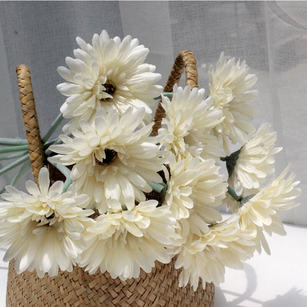 Cheap pictures of beautiful flowers in a bouquet find pictures of get quotations 5x sweet home decor silk gerbera daisy bouquet beautiful artificial flowers bouquet for homewedding izmirmasajfo