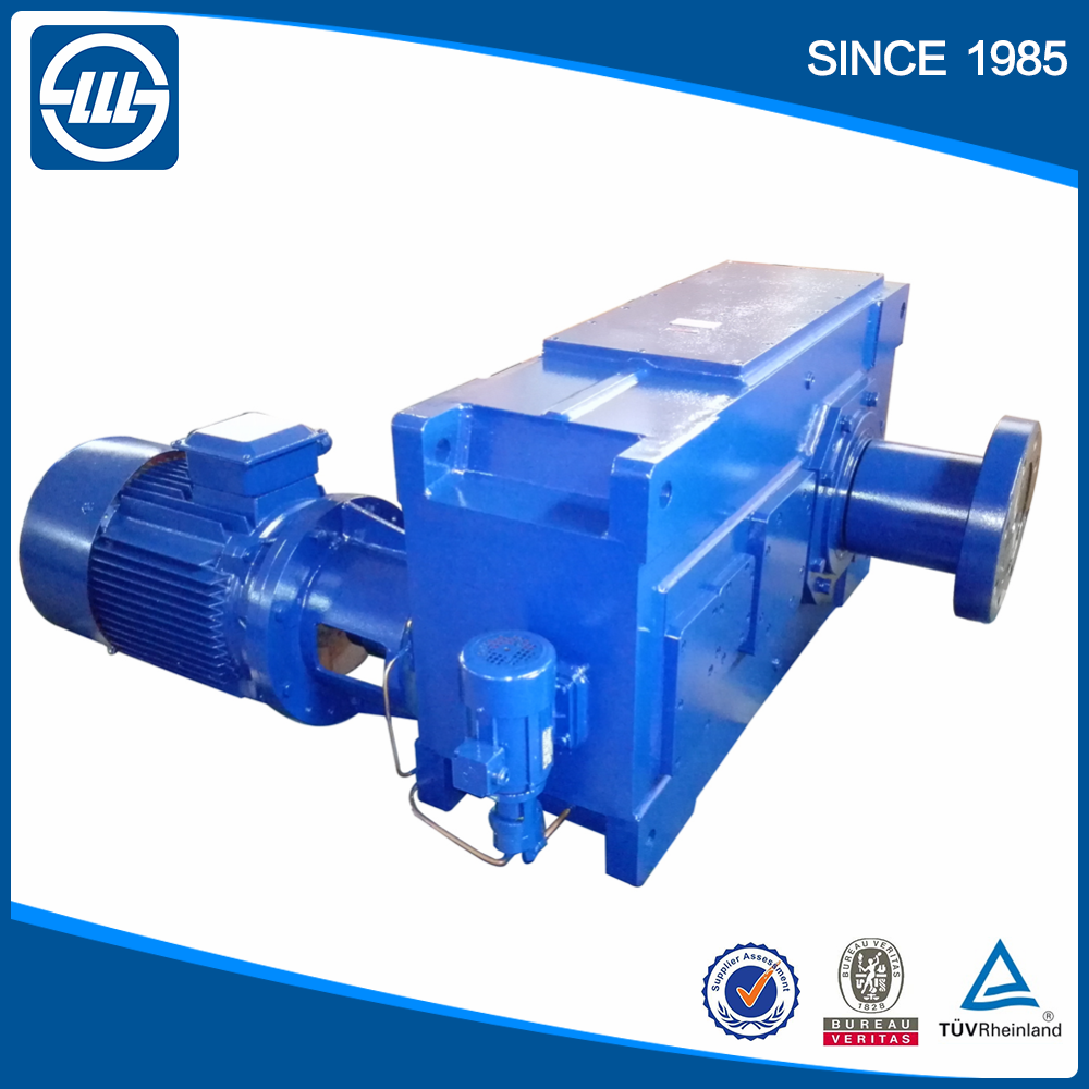 H series industrial helical bevel gear reducer for conveyor belt Direction changing gearbox milling machine gear box