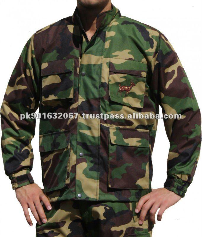 Mens Hunting Waterproof Jacket Comoflage Hunting Jacket
