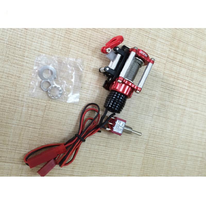 Kyx 1 10 Rc Car Winch W Remote Control Electric Winch Metal
