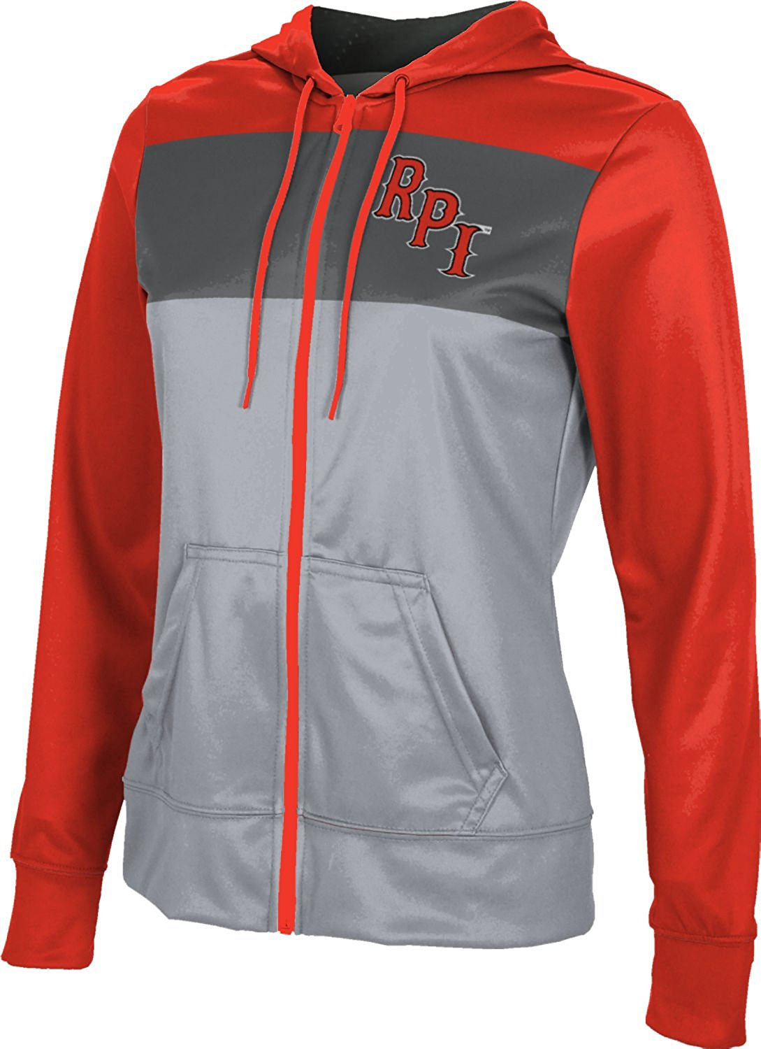 Rensselaer Polytechnic Institute University Women's Fullzip Hoodie - Prime