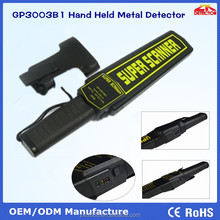 Hot sale Super Scanner hand held metal detector GP3003B1