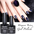 Hot !!! Factory Supply 2019 new arrival CINDY UV gel polish for nail paint 590 classic colors