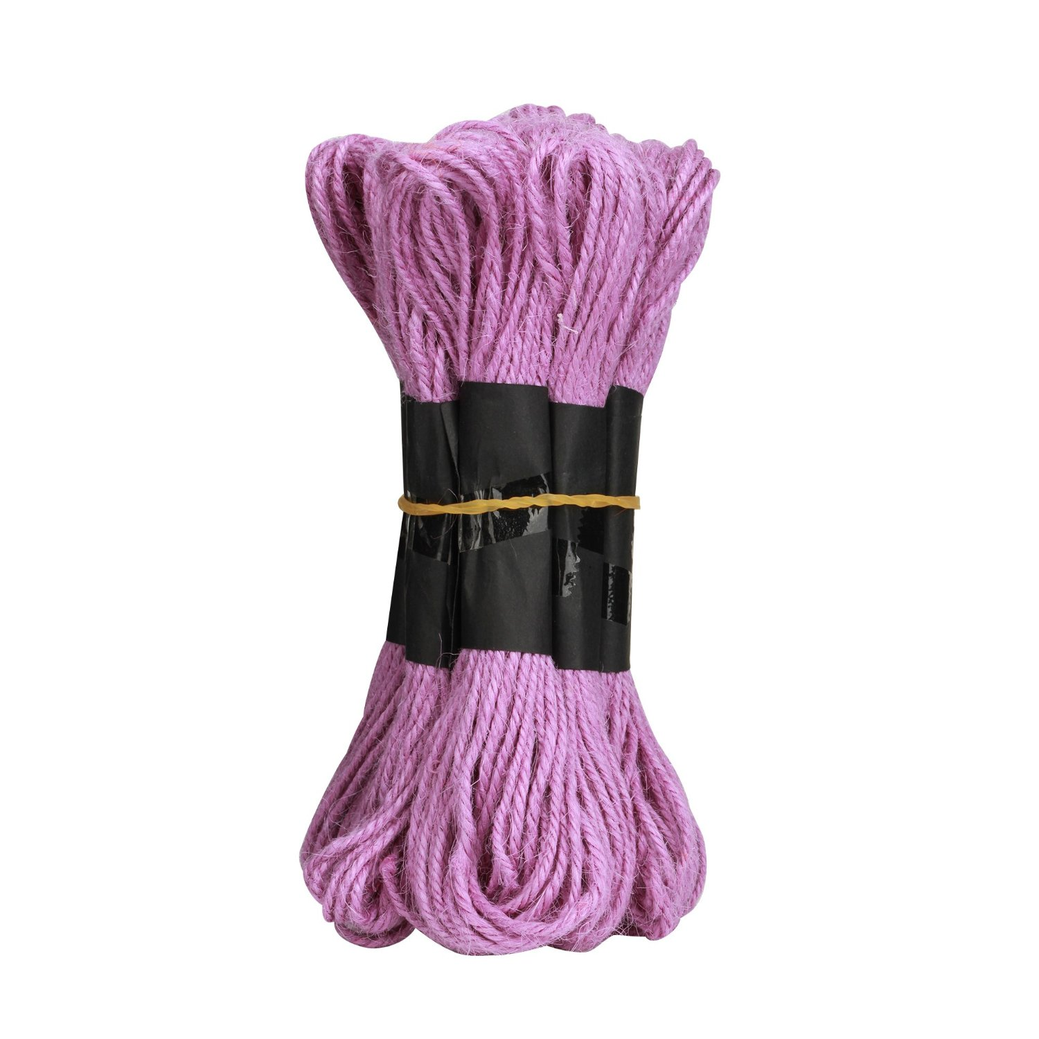 Shintop 300 Feet Sections Colorful Natural Jute Twine Best Industrial Packing Materials Heavy Duty Natural Jute Twine for Arts and Crafts and Gardening Applications (300 Feet Violet Twine)