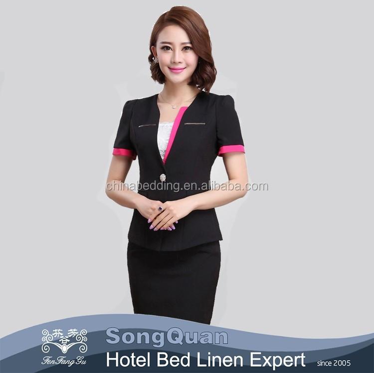 Spa receptionist uniform
