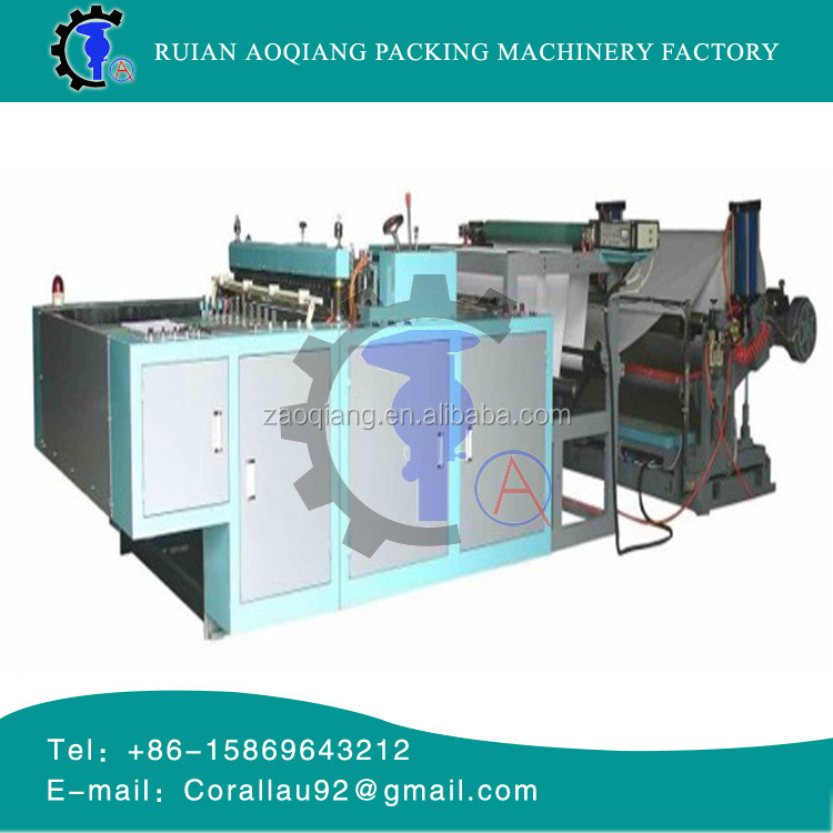 2016 style AOQIANG factory A4 paper cross cutting making machine with low price