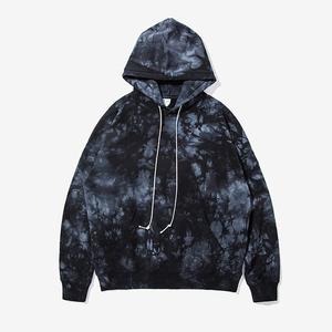 9fdbfb238d0f2 Custom Tie Dye Hoodie Mens 100% Cotton Terry Acid Wash Hoodie Wholesale
