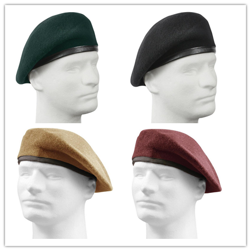 cheap military beret different fashion types of hats and caps made of 100%  wool 43b70cfff22