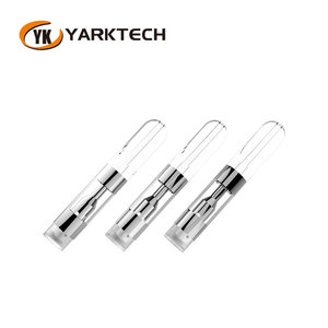 Yarktech Original Ceramic Tip Vaporizer 0.5ML Vape Pen Cartridge Empty With 4*2.0 mm intake Holes For Thick Oil