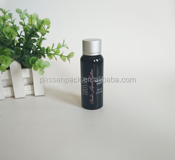 Sample free cute aluminum perfume spray bottle