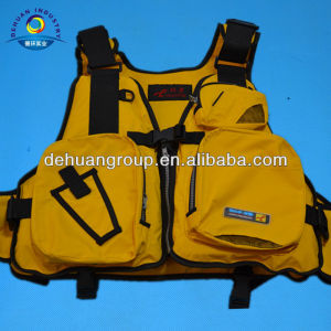 Kayak life vest for leisure wholesale with fashion design