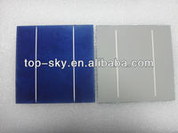 2013 hot sale high efficiency 156mmx156mm 6inch,2BB/3BB polycrystalline/multi solar cells,mono solar cell,made in Taiwan/Germany