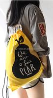 Travel Cheap Wholesale Organic Cotton Canvas Drawstring Bag