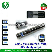 Newest VV Mod Vamo with metal button, metal vamo eGo Variable Volt/Watt APV