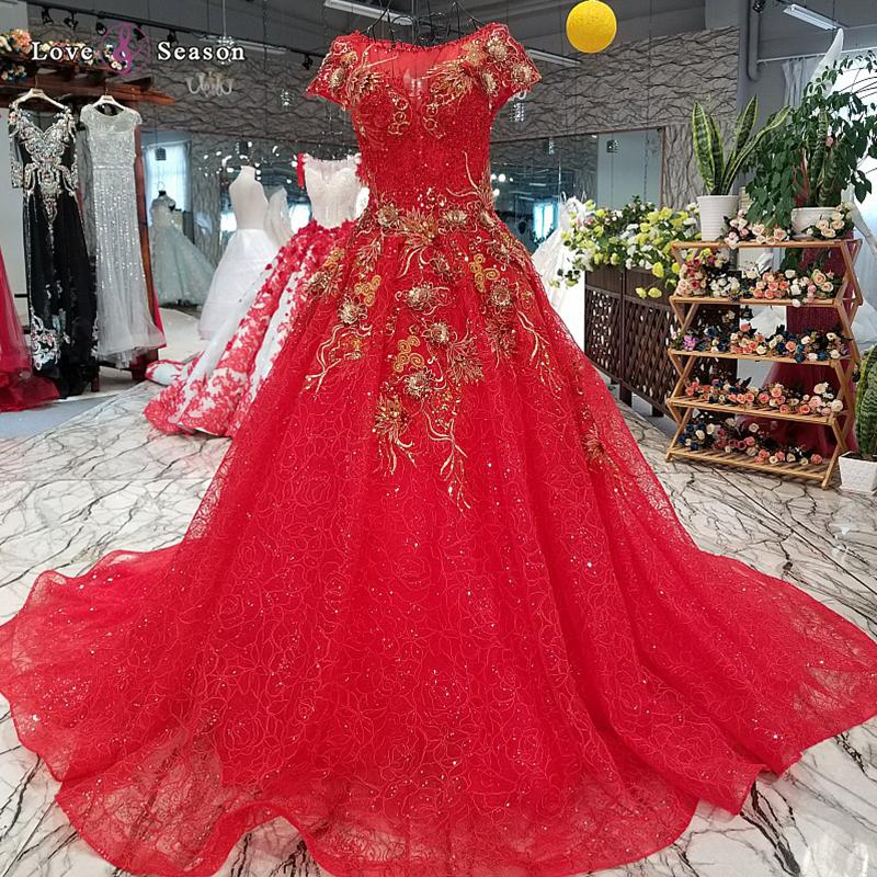 ef6981e32 Jancember LS24598 manga corta de moda rojo vestido de noche de encaje  vestido formal boda ocasiones