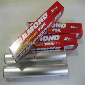 Diamond brand aluminium foil paper roll, diamond household aluminium foil