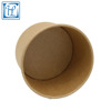High quality 750ml disposable kraft paper rice bowl with pp lid