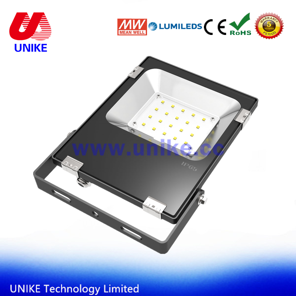 outdoor square undergroud lighting 20 watt 12 volt led flood light