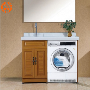 All Aluminum Laundry Room Sink Cabinet Combo Wash Machine