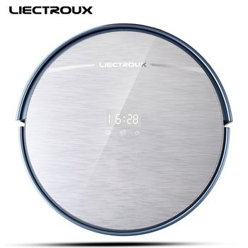 LIECTROUX x5s auto vacuum cleaner, big water tank, double central brushes