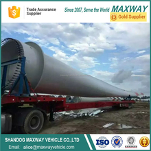 Extendable Wind Blade Transport Semi Truck Trailer