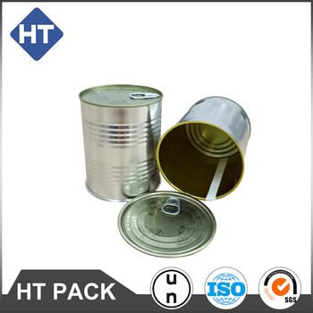 400ml round tin can, food grade packing can,easy open lid food tin can