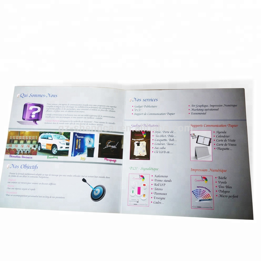 Cardboard,Coated Paper,Art Paper Paper Type And Letterpress Printing  Printing Type Printed Brochure For Company Profile - Buy Paper Used For  Print