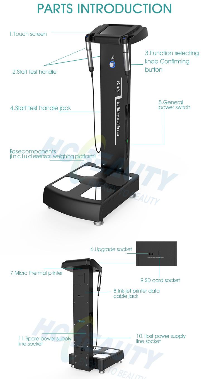 販売上のボディ強いフィットネス機器用脂肪分析