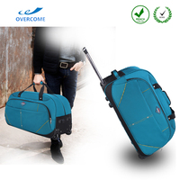 Durable waterproof travel luggage carry on trolley bags