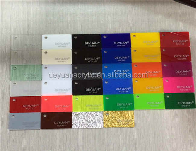 1mm To 10mm Acrylic Colored Plexiglass Sheets Manufacturer - Buy ...
