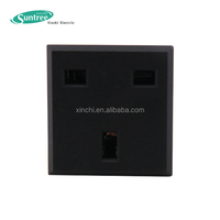 3 Pin UK Electric AC Power Socket with Fuse