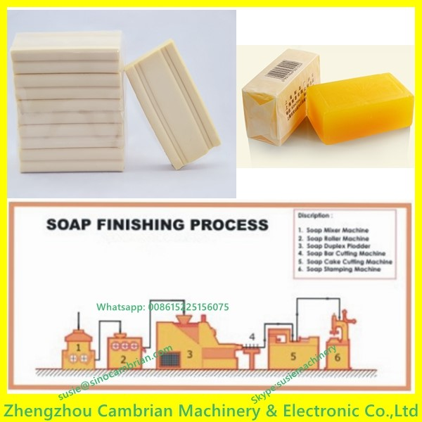 Laundry soap machine to make soap bar with soap