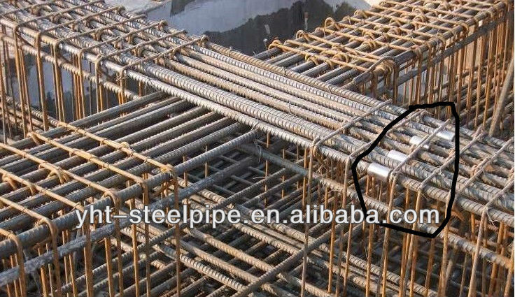 SCr420 SCr440 Alloy Precision Steel Pipe for steel bar connecting sleeve