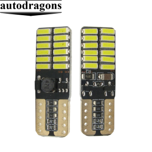 new good product Super bright Canbus Error Free T10 4014 24SMD w5w automotive led lamp