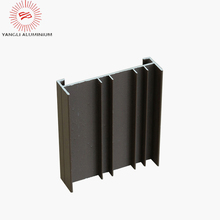 Building material aluminum profile products for sliding window