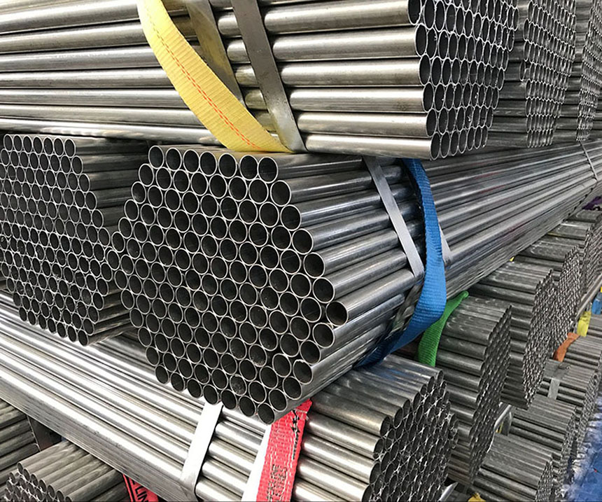 Hot-Dip Gi Welded Schedule 40 Stainless Pre Galvanized Round Steel Pipe