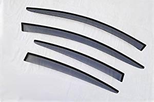 2014 2015 for Infiniti Q50 Window Visors Vent Shades Deflector Sun Rain Guard 4pcs