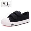 comfortable no lace canvas shoes for boys and girls