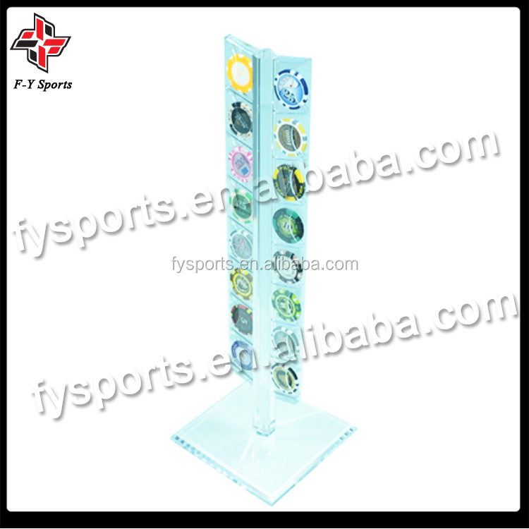 acrylic chip box/chip stand/chip holder