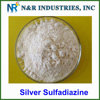 GMP factory supply top quality 98% silver sulfadiazine