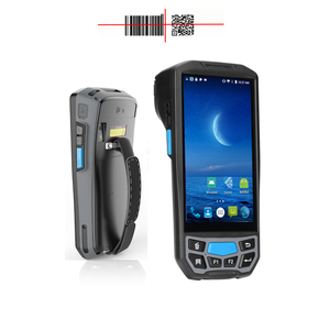Rugged Bluetooth wifi GPS NFC 4G android pda barcode scanner terminal handheld computer data collector 1D 2D qr bar code reader