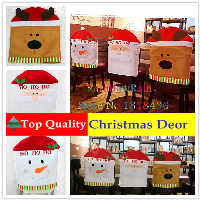 Top Quality Christmas Chair Covers Christmas Ornaments For Chair Dinning China Christmas Suppliers Home Decor Adornos Navidad