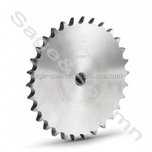 Steel 1045 Long Lifetime Low Price Plate Wheel Sprocket / Platewheel Gear Sprocket