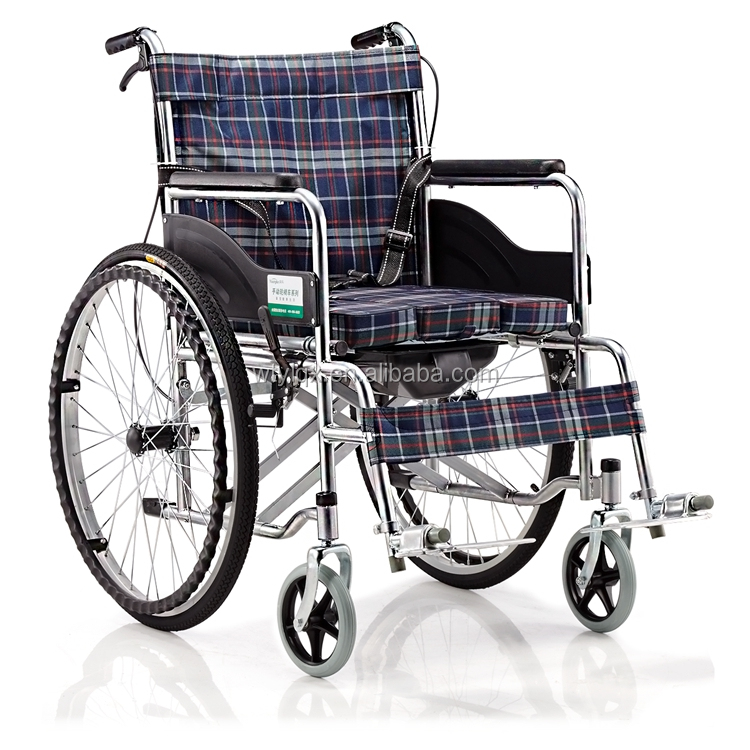 Factory price durable lightweight portable wheelchair