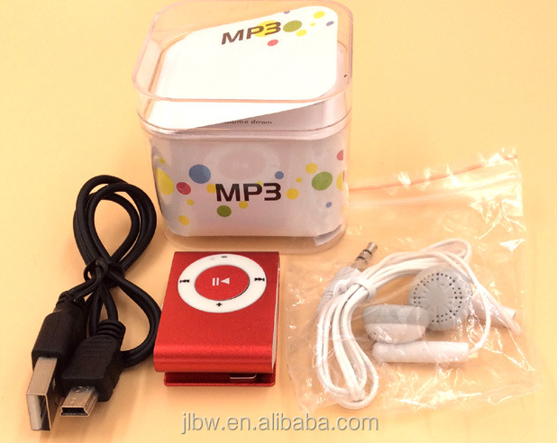 Entertaining diversions MP3 Mini MP3 player Clip MP3 player