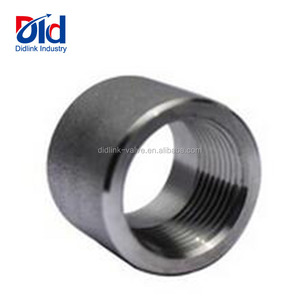 Stainless Steel Water Pipe Fitting Steam Supplier Plumbing To Copper Bsp Npt Thread Socket Half