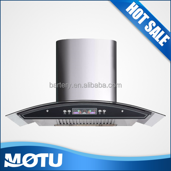 fashionable round range hood with oil cup